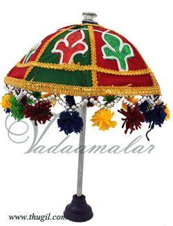 Umbrella Hindu Idol Deity Altar Ganesha Pillayar Decorations Buy Online