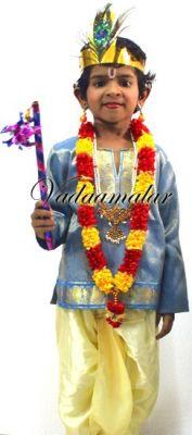 Lord Krishna Costume for kids