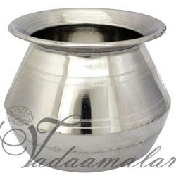 Stainless Steel Milk Pongal Pot Multipurpose Pot - 5 Inches