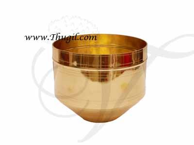"""6"""" Traditional Measuring Brass Vessel/ Kerala Traditional Para Buy Now"""