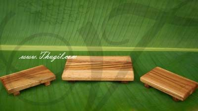 Wooden Manai Palagai Pedestal for statues in wood buy online