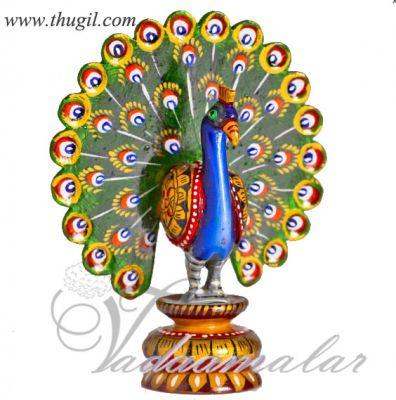 Beautiful Meenakari worked Peacock