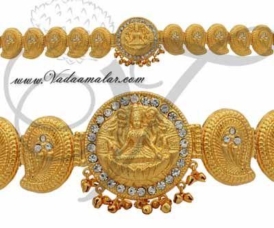 Gold Colour Waist Belt Hip Belts Large size Buy now