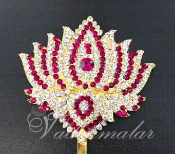 Pendant Pathakam Hindu deity Chest Lotus Decorations Ornaments for Temple Buy Online