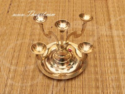 5 Five Kilai Panchakelai Aikilai Ikilai Aarthi Aarati Deepam Pancharati Brass Buy Now