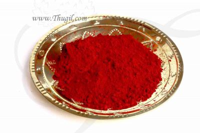100 gms Red KumKum Sindoor Quality Kungumam Powder Buy Online