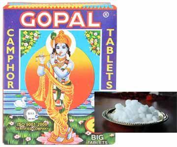50 gms Gopal Camphor Karpooram Puja Karpur Buy Online Now