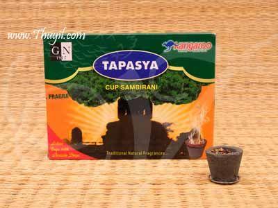 Kangaroo Tapasya cup Sambrani for Home Puja 12 pieces pack Buy Now
