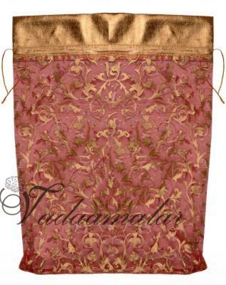 Mild pink potli pouch for Wedding