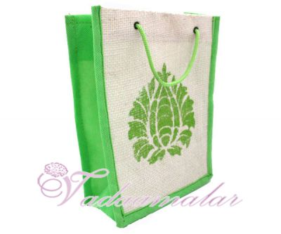 Traditional Plain Jute Pouches for Wedding and Engagement