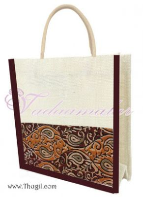 Beautiful Traditional  Jute Bags/ Pouches for Wedding and Engagement