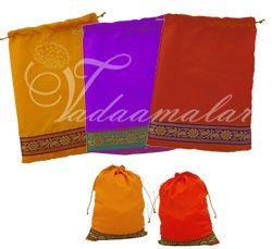 Hand Made Weddings Festivals Cloth Bags Pouchs Wedding Auspicious India