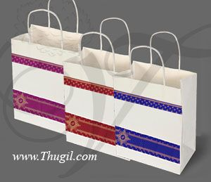 Indian wedding gift festivals paper bag bags for Return Gifts