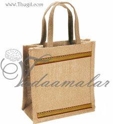 Wedding Gift favor Bags Thamboola pai - Jute