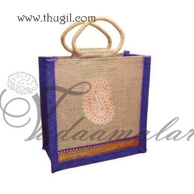 Ethnic Wedding Gift Bags Eco Friendly Jute Fabric Buy Online