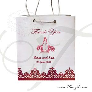 Thamboolam gift bags wedding festivals paper for return gifts