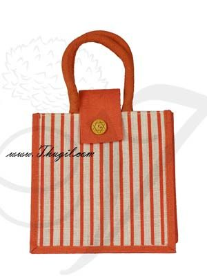 """10"""" Beautiful Jute Bags/ Pouches for Wedding and Engagement"""