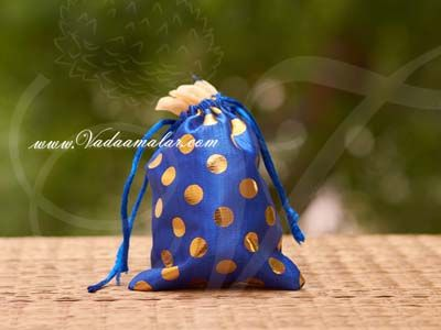 6 x 3.8 Festival Gifts Cloth Bags Pouchs Polka Dots Wedding India Buy Online