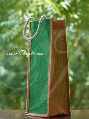 """14"""" Beautiful Jute Bags/ Pouches for Wedding and Return Gift Buy Now"""