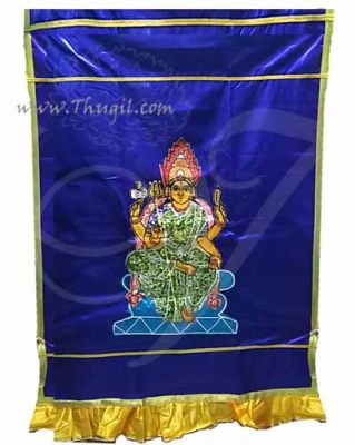 Buy Inner Scranton Hindu Amman Design Satin Screen Temple Thirai Buy Now