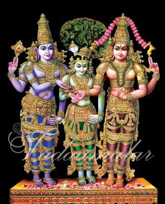 Thirukalyanam Wedding Banner Back Drop stage decorations India dance art or cultural gatherings