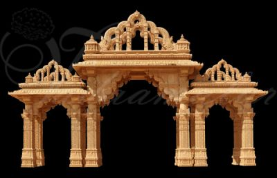 India Traditional Mandap Stage Banners Backdrop India Flex Printed Any size