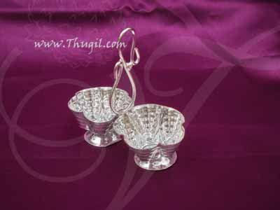 German Silver Chandan Kumkum Wedding Welcome Set Buy now