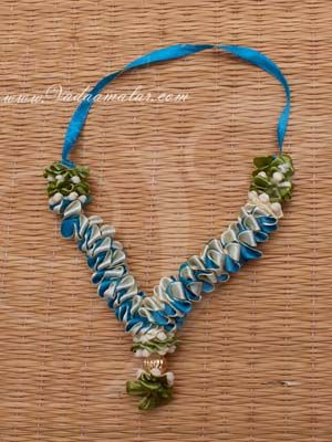 """4.5"""" Floral design mala for Small Deity Statue Garland Buy now"""
