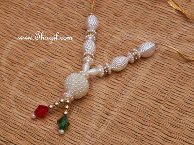 "4.5"" Small Deity Statue Beads Necklace Maala"