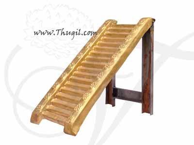 1 feet Brass 18 Padi Eighteen Steps of Sabarimala Ayyappa Temple for Pooja