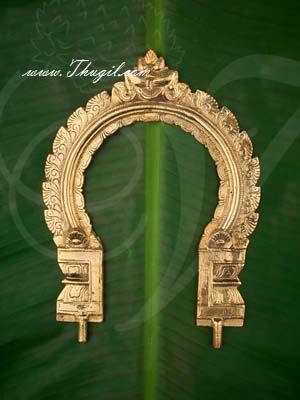 "9"" Prabhavali Brass Thiruvachi Arch deity Idols Decorations Buy Online"