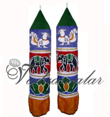Buy Thombai online Traditional India Stage Thombai  Temple Car decorations -2 pieces - 6 feet