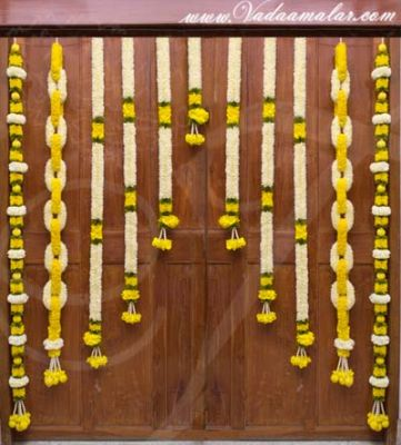 Flowers Artifical Door Hanging Wedding Festival Backdrop Decorations