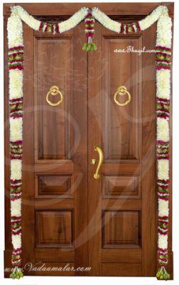 """68"""" Door Decorative Garland Door Decoration Synthetic Flowers - Washable"""