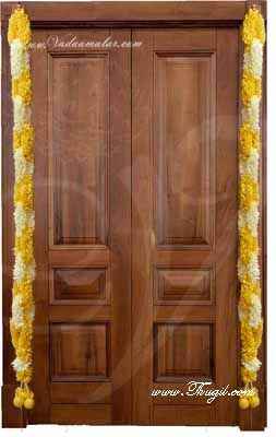"""52"""" synthetic flower hanging decoration for doors and wedding venues"""