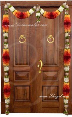 """72"""" Door Decorative Door Decoration Toran Tapestry Synthetic Flowers Buy Now"""