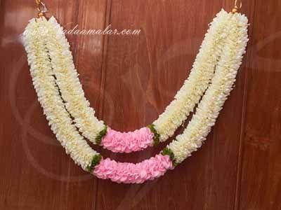 Jasmine design 2 step Floral decoration for Arangetram Weddings Venue Toran Buy online