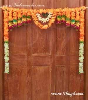 Door Hanging Welcome Toran Thoran Synthetic Thoranam Shop Online