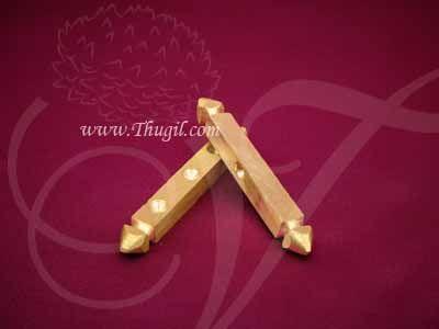 Traditional Chausar Pachikalu Brass Dhayakattai Brass Indian Dice Set Buy Now