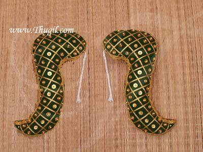 11 inches Vagamalai Deity Shoulder Decorations for Pooja Amman Alangaram Buy Online