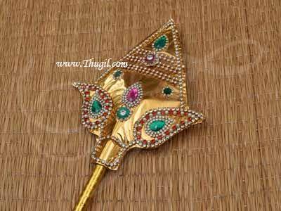 Vel Lord Murugar Murugan Velautham Fancy Dress Costume Accessories Buy Now