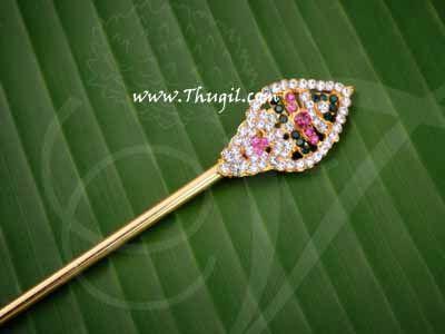 """Vel for Murugar Metal Symbol Jewelry Ornament Lord Shanmuga Vel Buy Now 8"""""""