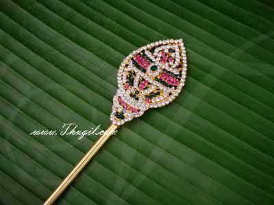 Vel for Murugar Metal Symbol Jewelry Ornament Lord Shanmuga Vel Buy Now 17 Inches