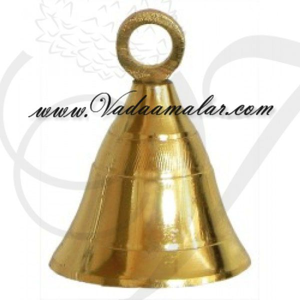 2 inches 6 pieces Brass Small Tinker Bell Bells Buy Online India Mani