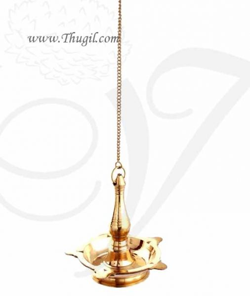 Buy Plain Hanging Brass Diya Online at Best Prices in India - Large size