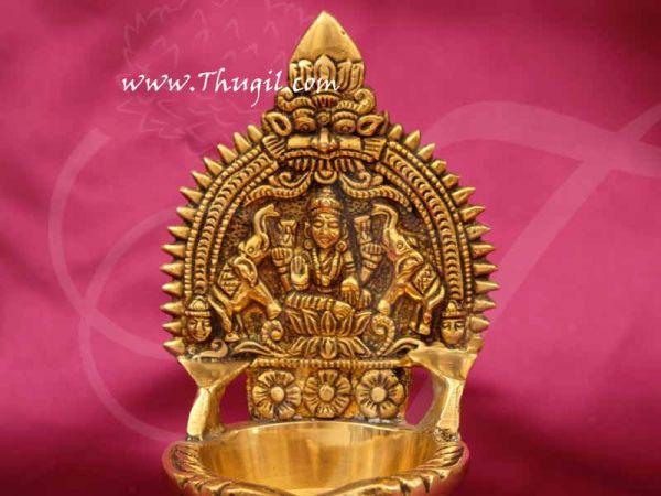 Brass Deepam Lord Gajalakshmi Vilakku Lamp Buy Now 5.5