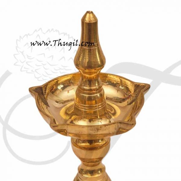 Uduppi Oil Lamp in Brass Indian deepam buy now 10 Inches
