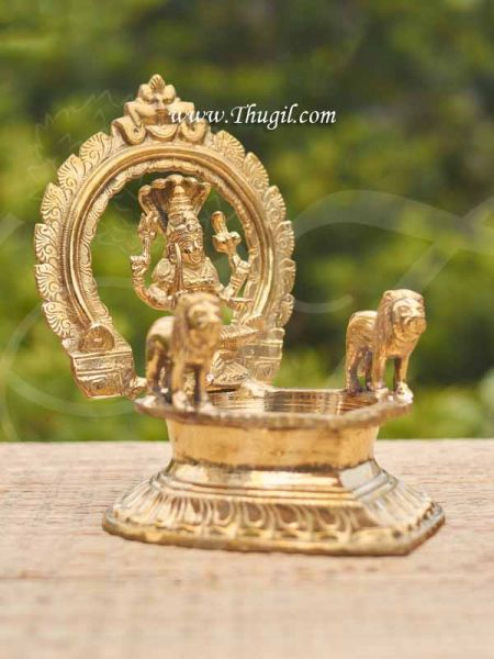 Brass Goddess Mariamman Vilakku Lamp Buy Now 9