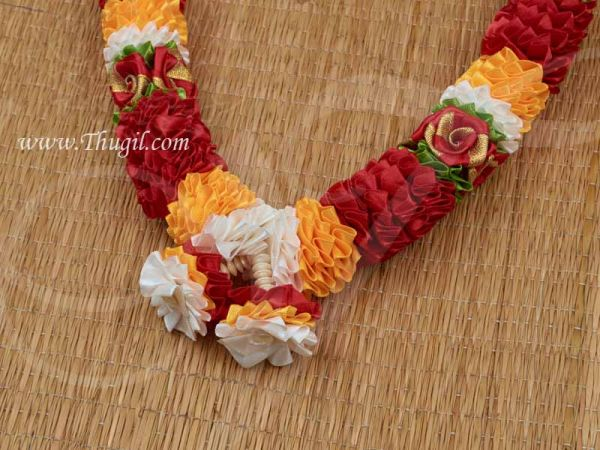 Colourful Rose Garland Maala for Statue Photo Frame Garland Buy Now 22