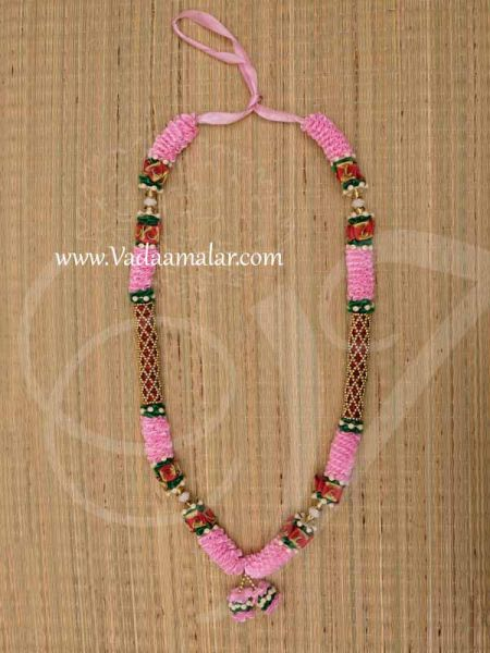 Maalai For Statue Photo and Wedding Rose Colour Synthetic Garlands  Buy Now 25